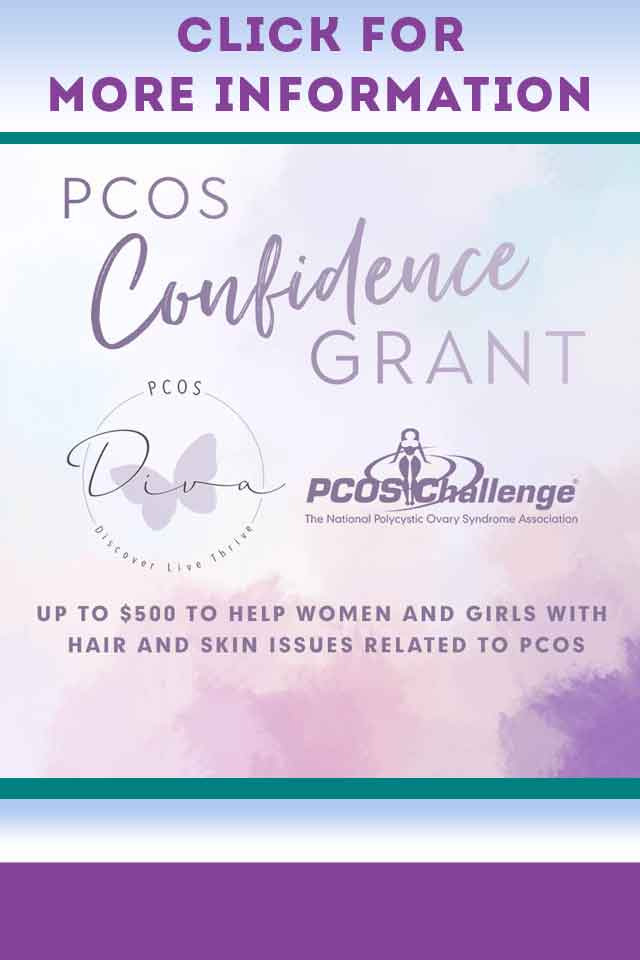 PCOS Diva PCOS Challenge Confidence Grant