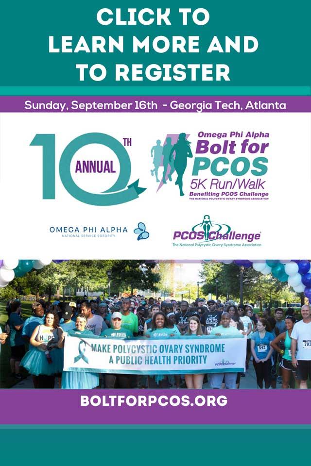 Bolt for PCOS 5K Run Walk – Atlanta