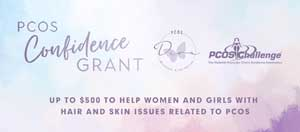 PCOS Diva/PCOS Challenge Confidence Grant