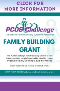PCOS Challenge Family Building Grant