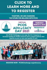 PCOS Advocacy Day 2021 Presented by PCOS Challenge
