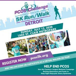 2020 Detroit PCOS Walk 5K