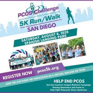 2020 San Diego PCOS Walk 5K